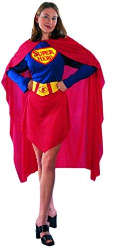 Ace Halloween Adult Women's Superwoman Supergirl Costumes (Superwoman Halloween Costumes)