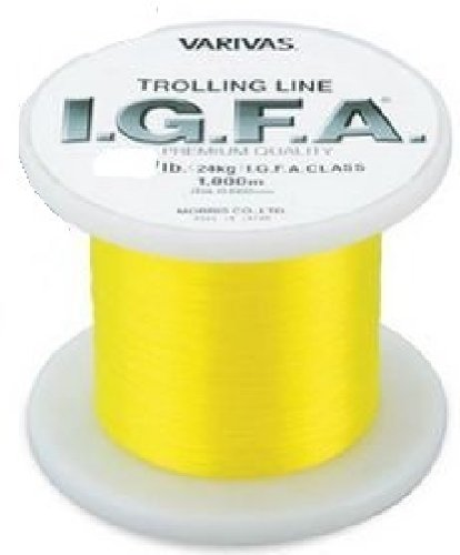 Morris Varivas Monofilament Fishing Line I.g.f.a. Tolling Line Yellow 50lb 1000m Japan Import For Sale