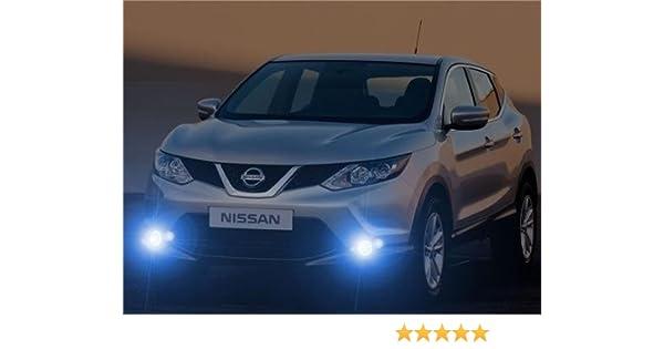 2014 2015 2016 Nissan Qashqai Xenon Fog Lamps Driving Lights Foglamps Foglights Kit