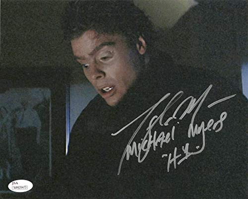 Tony Moran signed 8x10 Photo Halloween 1978 Michael Myers Unmasked JSA -