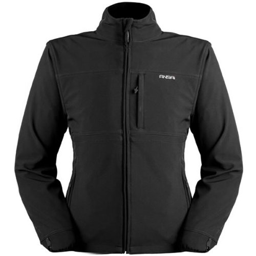 Price comparison product image Ansai Mens Classic Jacket Black XXL 2XL 7109-1105-08