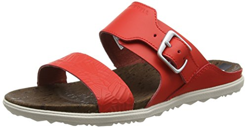 fiery Femme Town Eu Red Sandales Incandescent 42 Print Buckle Rouge Ouvert Bout Around Slide Merrell pwqU4fnR