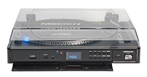 MEDION Life p69044 USB Tocadiscos (MD 83821 accionamiento por ...