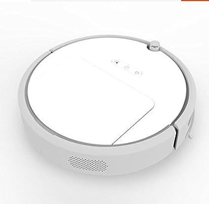 JJYJQR Robot Aspirador Robot Aspirador Smart Planificado Tipo Wifi App Control Auto Charge, Blanco
