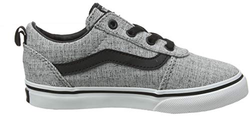 Zapatillas textile Gris white Bebé Ward Qoq Gray Unisex on Vans Slip Canvas qpxI70