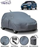 Fabtec Car Body Cover for Maruti Baleno (2015-2019) with Mirror Pocket Antenna & Storage Bag (Heavy Duty)