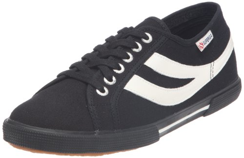 Superga - Zapatillas de tela unisex Negro (Nero (Schwarz))