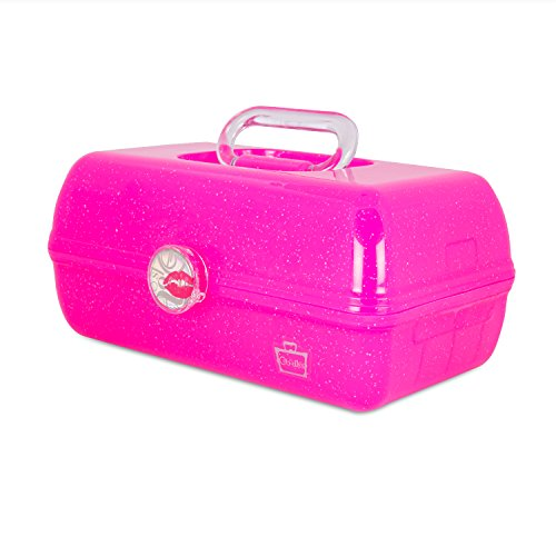 Caboodles On The Go Girl Classic Case, Pink Sparkle, 2.4 Pound