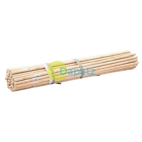 Dapetz ® Dia 50Pce Broom Handles 4' X 15/16