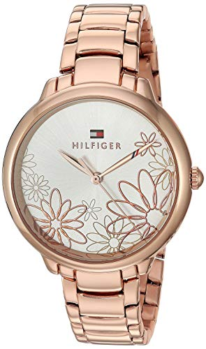 's Leila Quartz Watch with Strap, Rose Gold, 15 (Model: 1781780 ()