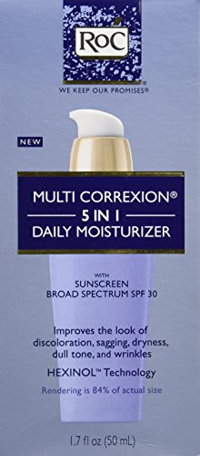 41LH2Q8 X%2BL - RoC Multi Correxion 5 In 1 Anti-Aging Daily Face Moisturizer with Broad Spectrum SPF 30, anti-wrinkle Cream for Skin Discoloration, Elasticity, and Firmness, 1.7 fl. oz
