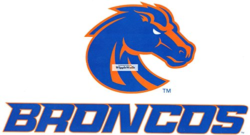9 Inch Duster Bronco BSU Broncos Boise State University Logo Removable Wall Decal Sticker Art NCAA Home Room Decor 9 by 5 Inches
