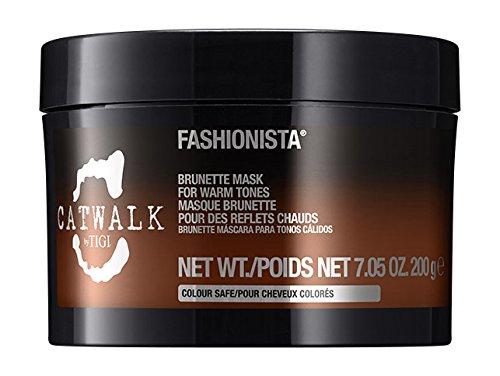 Tigi Cosmetics Catwalk Fashionista Brunette Mask For Warm Tones, 7.05 Oz