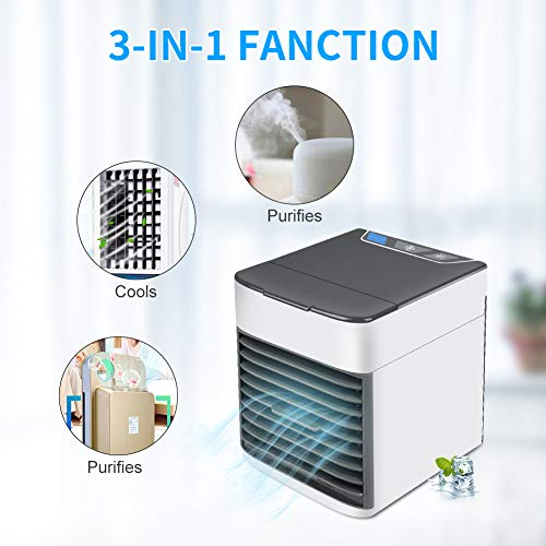 Xinnio Homdox Air Cooler Ultra ersonal Space Cooler,Mini Cooler,3 Gear Speed,Office Cooler Humidifier & (Best Homdox Home Humidifiers)