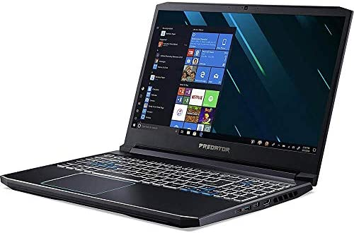 "ACER PREDATOR HELIOS 300 GAMING LAPTOP PC, 15.6"" FULL HD 144HZ 3MS IPS DISPLAY, INTEL I7-9750H, GEFORCE GTX 1660 TI 6GB, 16GB DDR4, 512GB NVME SSD, RGB KEYBOARD, PH315-52-72RG"