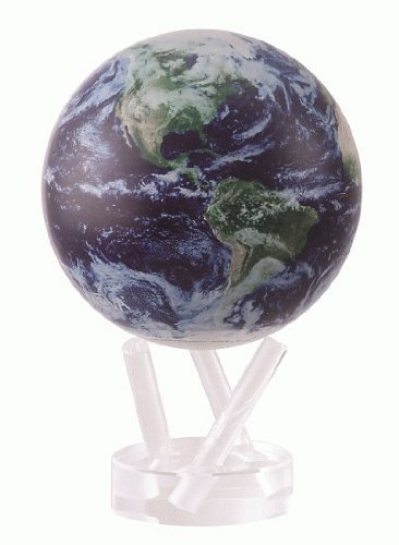 Mova Earth with Clouds Globe 6