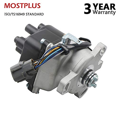 (MOSTPLUS New Ignition Distributor for 96-01 Acura Integra LS RS SE 1.8L OBD2 TD85U (1.8L Non-VTEC Engines))