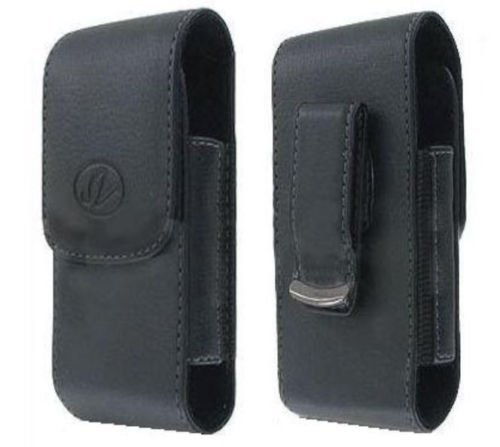 FYL Leather Case Pouch Holster Clip for iPhone 6 6S (FITS with OTTERBOX DEFENDER ON)