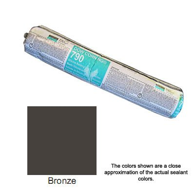 Bronze Dow Corning 790 Silicone Building Sealant - Sausage