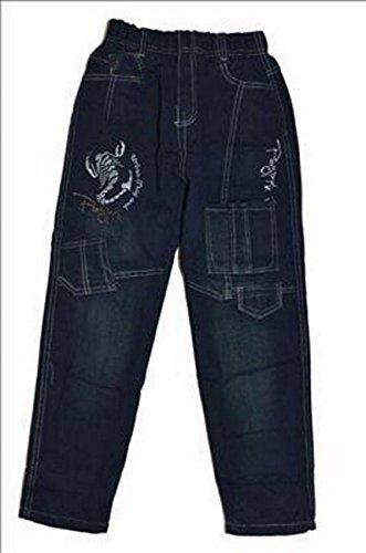Thermojeans Thermohose Schneehose gefütterte Jeans Babyjeans warm Größe 98 bis 146