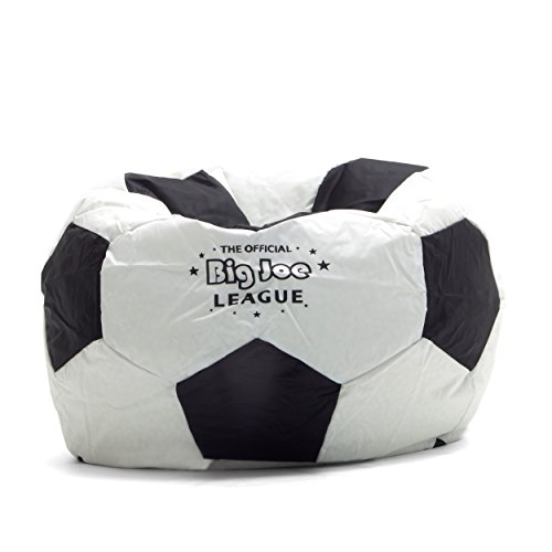 Big Joe Soccer Bean Bag with Smart Max Fabric (Outdoor Waterproof Bean Bags Furniture)