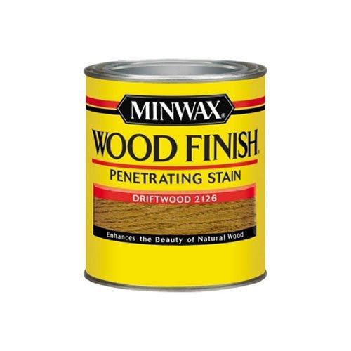 - Minwax 70011444 Wood Finish Penetrating  Stain, quart, Drift