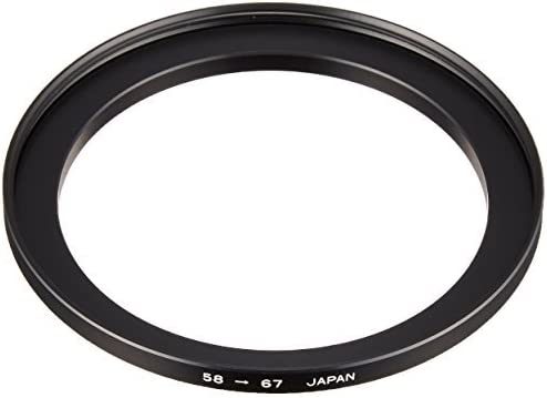 Marumi 58mm to 67mm Lens Step Up Filter Ring Stepping Adapter Metal 58 67 Made in Japan