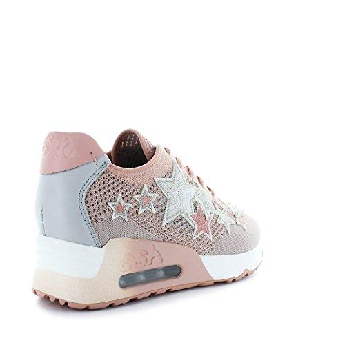 2018 Cenere Scarpe Sneaker Da Estate Stella Buona Primavera Di Nudo Donna Rosa xxPfOwC
