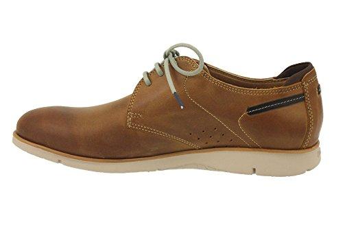 Fluchos - Zapatos de cordones para hombre Natural