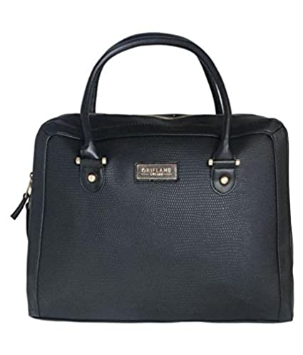 oriflame Women s Polyurethane Computer Bag (Black) - Buy oriflame Women s  Polyurethane Computer Bag (Black) Online at Low Price in India - Amazon.in 8276a9ccb6