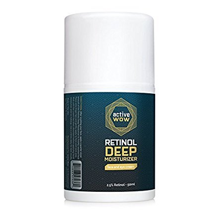 Large Product Image of Active Wow Retinol 2.5% Deep Moisturizer - for Face and Eyes