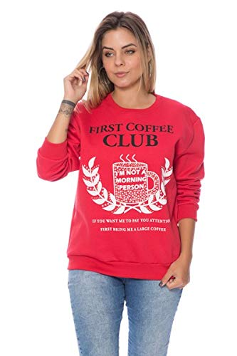 Blusa Moletom First Coffee Club
