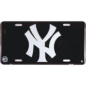Dixie New York Yankees License Plate