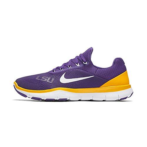 Nike Lsu Tijgers Vrije Trainer V7 Sg Collectie College Schoenen - Size Mens 9 Ons