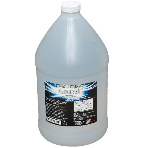 MediSILVER CLEAR (20 ppm of 99.99+% Pure Bioavailable Colloidal Silver) - One (1) U.S. Gallon