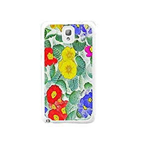 Personalized Design Watercolor Flowers Art Pattern Hard Back Case Cover for Samsung Galaxy Note 3 N9005