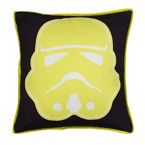 Disney negro etiqueta Star Wars tormenta cojín cuadrado ...