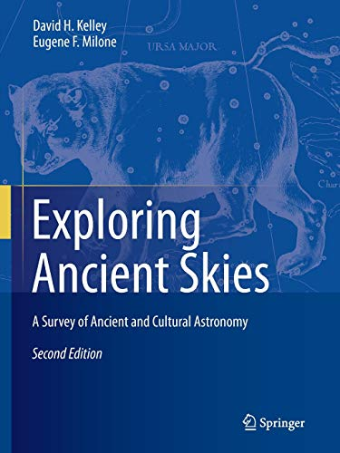 Exploring Ancient Skies: A Survey of Ancient and Cultural Astronomy