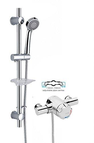 Bristan Mini OPAC Exposed Thermostatic Mini Mixer Shower Valve + Kit ...