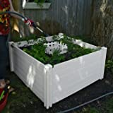Keyhole-4-x-4-Compost-Garden-Bed-Made-with-Vinyl-Ensure-That-Easy-to-Use-and-Easy-to-Clean-Compost-is-Rich-in-Nutrients-Thats-Perfect-for-Plants