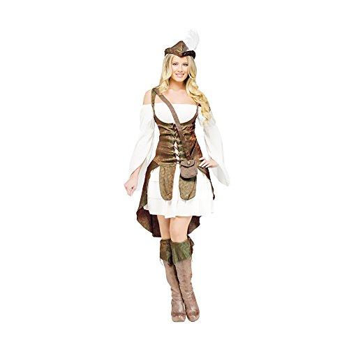 Robin Costume Design (Morris Costumes Halloween Robin hood adult small 4-6)