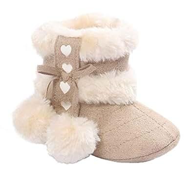 Amazon.com | Voberry Baby Toddler Girls Knit Soft Winter
