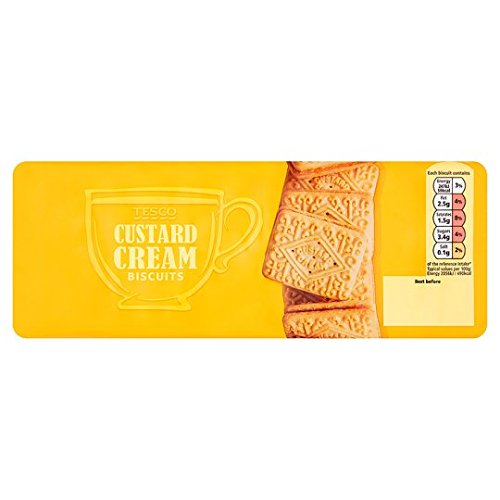 - Tesco Custard Cream Biscuits 400G