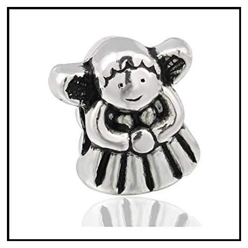 Vintage Punk Tibet Silver Color Mickey Mouse Owl Cat Dog Stars Charms Beads Fit Pandora Bracelets Necklaces for Women Making 10