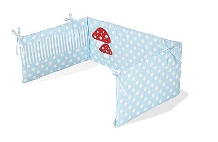 Pinolino 650969-2 - Nestchen für Kinderbetten, 'Glückspilz ...
