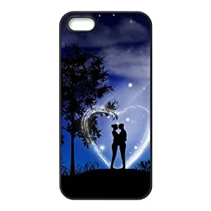 Cool Painting love Personalized Cover Case for Iphone 5,5S,customized phone case case604434