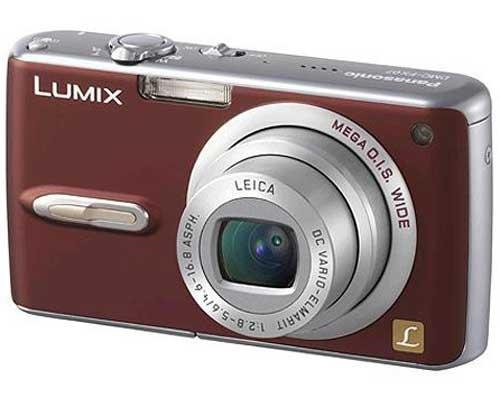 Panasonic Lumix Digital Camera DMC FX07