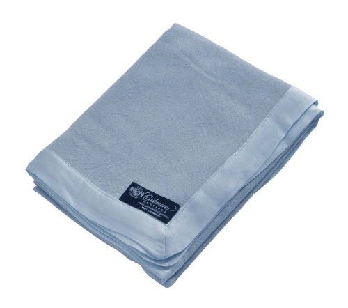 Pure Cashmere Baby Blanket (Baby Blue, 36