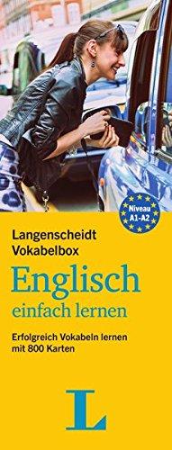 Langenscheidt Vokabelbox Englisch einfach lernen - Box mit Karteikarten: Erfolgreich Vokabeln lernen mit 800 Karten (Langenscheidt Vokabelbox einfach lernen)