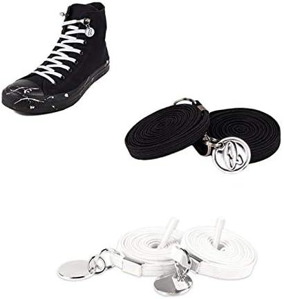 スニーカーコードストッパー 結ばない靴ひも 着脱簡単 2色セット 160